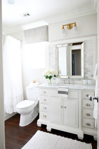 Trend When we set out to renovate the bathroom I knew I wanted something timeless classic and clean I wanted it to be breath of fresh air and to be very spa