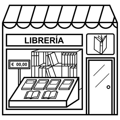 Kiosco para colorear - Imagui