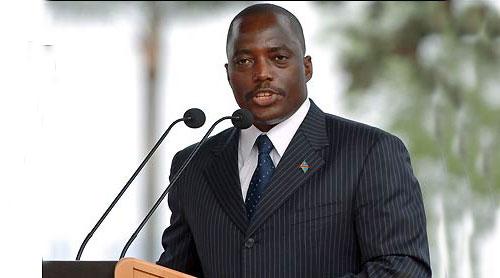 Joseph Kabila, président de la RDC, en 2010