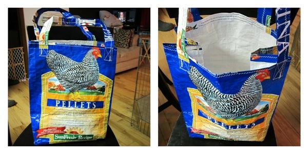 Upcycled Shopping Bag 1