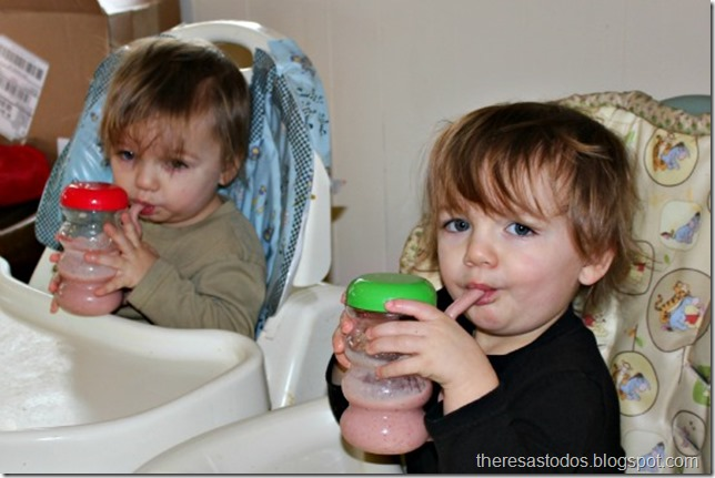 Toddler Smoothie Love