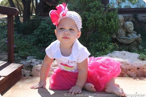 Selah's 1st birthday 085