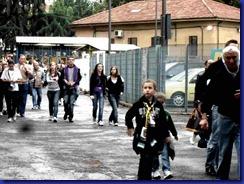 presentazione parma fc  2010-11 ragazzi arrivano al tardini