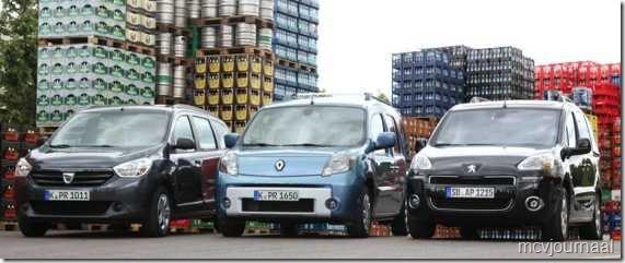 Dacia Lodgy - Renault Kangoo - Peugeot Partner 01