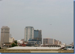 8044 ramp from US-280 to I-20, Alabama - Birmingham, AL cityscape