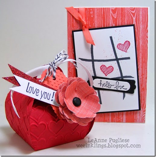 LeAnne Pugliese WeeInklings Paper Players 231 Stampin Up Valentine