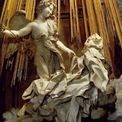 36 - Bernini - Extasis de Santa Teresa. Detalle