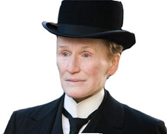 Glenn Close in - Albert Nobbs