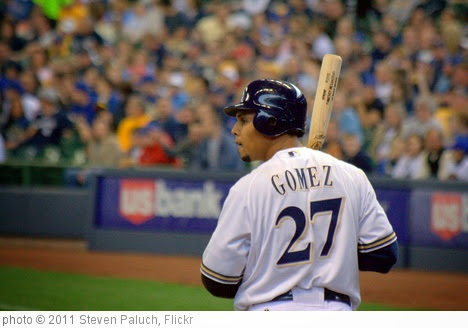 'Carlos Gomez' photo (c) 2011, Steven Paluch - license: https://creativecommons.org/licenses/by/2.0/