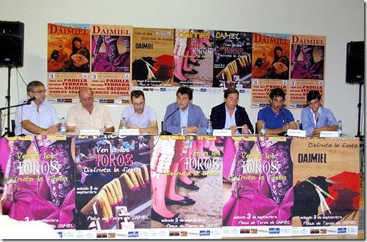 Presentacion cartel DAIMIEL 2011