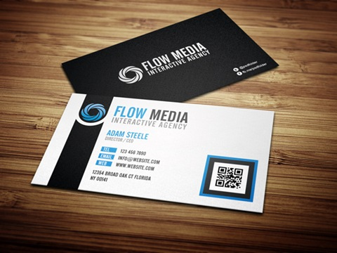 Flow-Media-Business-Cards-Blue