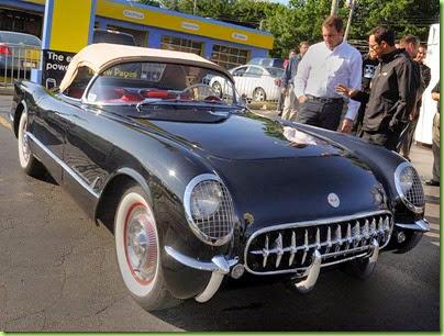 1954 Corvette convertible