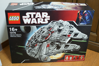 LEGO: 10179 UCS Millennium Falcon その1