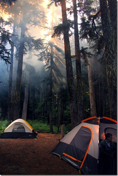 There is no app for camping