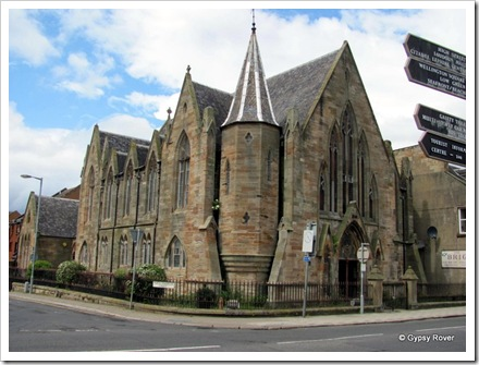 A beautiful church in Ayr now dis-used.