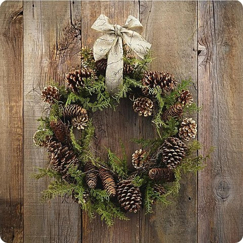 kmart winter radiance wreath