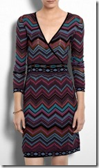 M Missoni False Wrap Dress