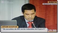 Reduzir escaloes IRS = aumentar impostos.Out 2012