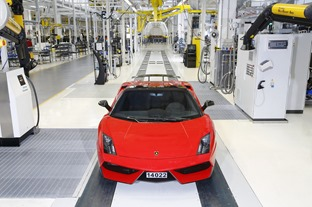 2_Last Gallardo and Assembly Line   Lamborghini Team