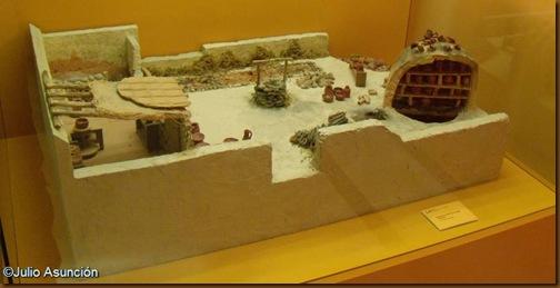 Maqueta de alfar - Museo de la romanización - Calahorra