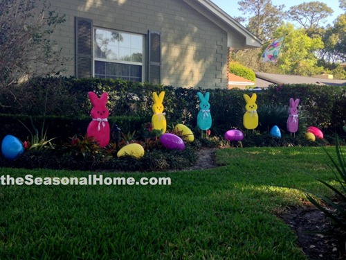 Giant Peeps Decoration - The Seasonal Home