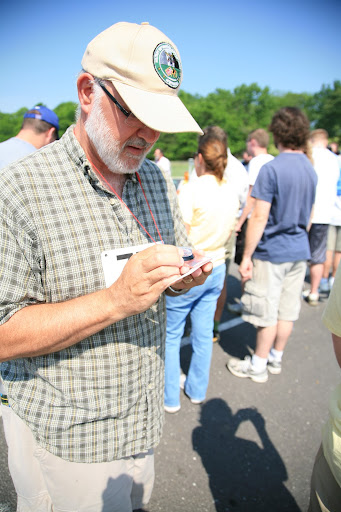 KSMU's Mike Smith participated in the Media Outdoor Adventure Challenge.  (Photo Credit: Alex Crowder)