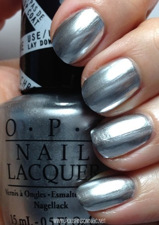 OPI Push and Shove over Lay Down That Base
