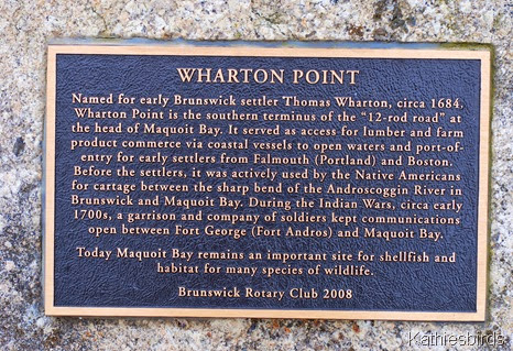 2. wharton Point sign-kab