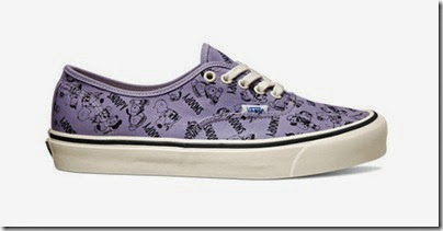 Vault by Vans X Peanuts OG Authentic LX Lavender