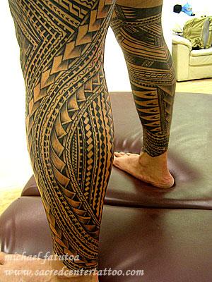 samoan tattoos by michael fatutoa aka 39 samoan mike
