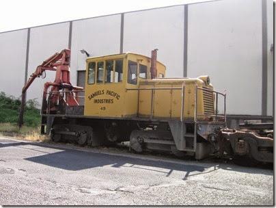 IMG_7462 Samuels Pacific Industries 45-Tonner #45 in Milwaukie on July 13, 2007