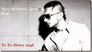 Mere Mehboob Qayamat Hogi HD Video Song – Yo Yo Honey Singh