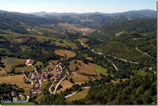 Vistas desde la cima del monte San Miguel - Abaurrea Alta