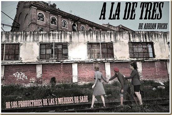 A LA DE TRES flyer