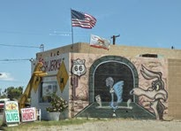 Route 66 in Needles California
