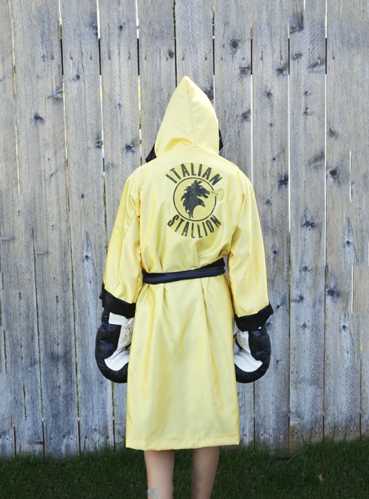 Rocky Balboa Costume // a lemon squeezy home