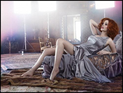 Christina Hendricks linda sensual sexy sedutora decote peito desbaratinando (51)