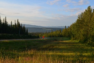 boondocking north of Hinton on Highway 40