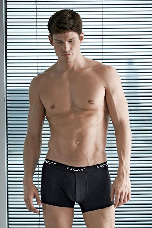 sexy guy in p.o.v. boxer briefs