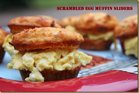 Scrambled Egg Bacon Muffin Sliders 2