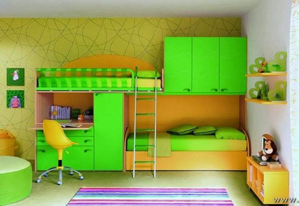 decoracion-habitacion-de-niño-color-verde-2