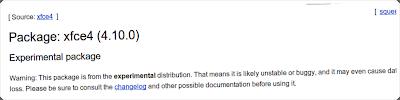Xfce 4.10 non ci sarà per Debian 7.0 Wheezy