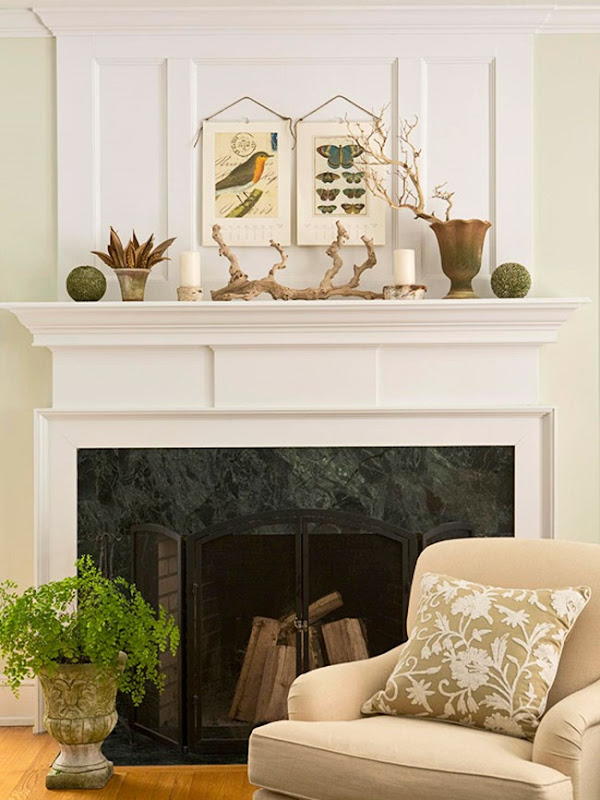Five Ways to Style a Mantel - A Thoughtful Place