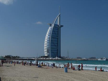 Obiective turistice Dubai: Plaja Jumeirah