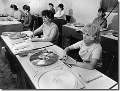EMI record quality control