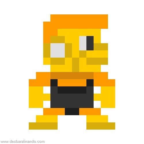 super herois e viloes em 8 bits megaman (7)