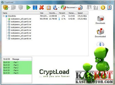 CryptLoad- Software Alternatif JDownloader untuk Windows, Mac & Linux