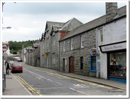 Cotton Mill town of Dalbeattie. Later famous for it's granite.