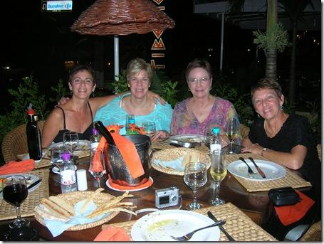 Sandra,Donna,Janet, Dorothy 2008