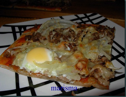 pizza de carne,racion copia